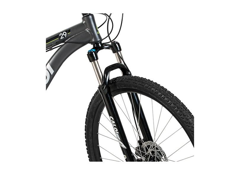 57ccec90a Bicicleta Mountain Bike Caloi Aro 29 21 Marchas Suspensão Dianteira Caloi 29  2016