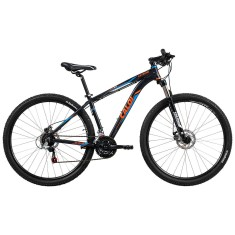 a872cdeb8 Bicicleta Mountain Bike Caloi 21 Marchas Aro 29 Suspensão Dianteira Freio a  Disco Extreme