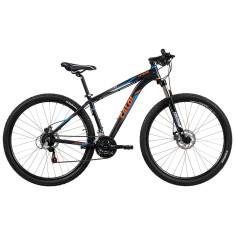 Bicicleta Mountain Bike Caloi 21 Marchas Aro 29 Suspensão Dianteira Freio a Disco Mecânico Extreme