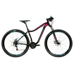 Bicicleta Mountain Bike Caloi 21 Marchas Aro 29 Suspensão Dianteira Freio a Disco Mecânico Kaiena Sport 2018