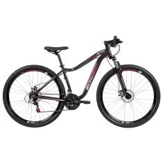 Bicicleta Mountain Bike Caloi 21 Marchas Aro 29 Suspensão Dianteira Freio a Disco Mecânico Schwinn Nevada