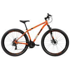 Bicicleta Mountain Bike Caloi 21 Marchas Aro 29 Suspensão Dianteira Freio a Disco Mecânico Two Niner Alloy