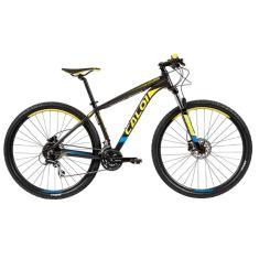Bicicleta Mountain Bike Caloi 24 Marchas Aro 29 Suspensão Dianteira Freio a Disco Hidráulico Explorer Comp 2019