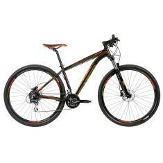 Bicicleta Mountain Bike Caloi 24 Marchas Aro 29 Suspensão Dianteira Freio a Disco Hidráulico Explorer Comp 2020