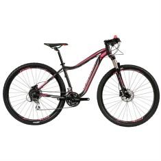 Bicicleta Mountain Bike Caloi 24 Marchas Aro 29 Suspensão Dianteira Freio a Disco Hidráulico Kaiena Comp 2018