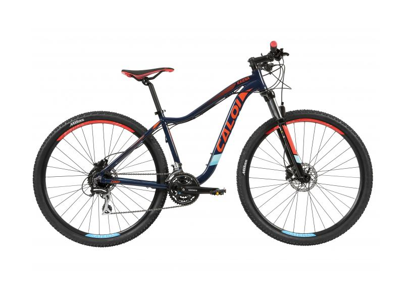 5dd235842 Bicicleta Mountain Bike Caloi Aro 29 24 Marchas Suspensão Dianteira Kaiena  Comp 2019