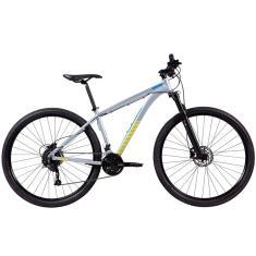 Bicicleta Mountain Bike Caloi 27 Marchas Aro 29 Suspensão Dianteira Freio a Disco Hidráulico Atacama M