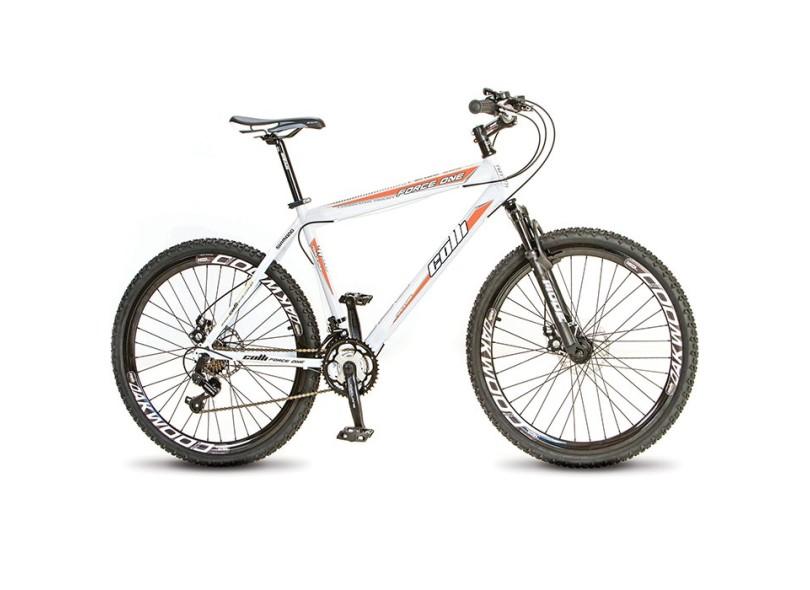 4e4ba10c3 Bicicleta Mountain Bike Colli Bikes Aro 26 21 Marchas Suspensão Dianteira  Force One