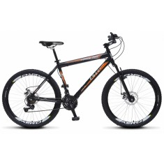 Bicicleta Mountain Bike Colli Bikes 21 Marchas Aro 26 Suspensão Dianteira Freio a Disco Mecânico Force One 300