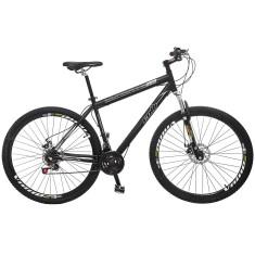 Bicicleta Mountain Bike Colli Bikes 21 Marchas Aro 29 Suspensão Dianteira Freio a Disco Mecânico Ultimate