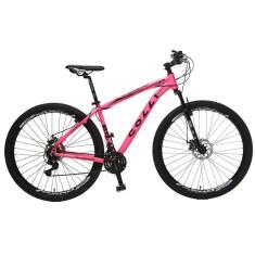 Bicicleta Mountain Bike Colli Bikes Mountain 21 Marchas Aro 29 Suspensão Dianteira Freio a Disco Mecânico Aluminum