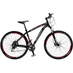 Bicicleta Mountain Bike Colli Bikes Renault 27 Marchas Aro 29 Suspensão Dianteira Freio a Disco Mecânico Sport