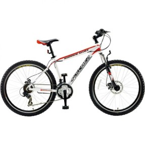 Bicicleta Mountain Bike Fischer 21 Marchas Aro 26 Suspensão Dianteira Freio Disco Mecânico Runner Alloy