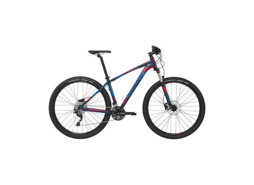 27e16c96a Bicicleta Mountain Bike Giant Aro 29 27 Marchas Suspensão Dianteira TALON  ER2 2016