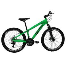 Bicicleta Mountain Bike Gios 21 Marchas Aro 26 Suspensão Dianteira Freio a Disco Mecânico Frx Freeride