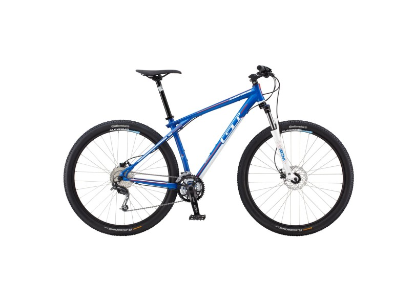 39a86e1f4 Bicicleta Mountain Bike GT Aro 29 27 Marchas Suspensão Dianteira Karakoram  Comp