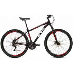 Bicicleta Mountain Bike GTS 21 Marchas Aro 29 Suspensão Dianteira Feel