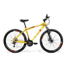 Bicicleta Mountain Bike GTSM1 24 Marchas Aro 29 Suspensão Dianteira Freio a Disco Mecânico Stilom 2.0