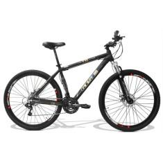 Bicicleta Mountain Bike GTSM1 24 Marchas Aro 29 Suspensão Dianteira Obstáculo 1.0
