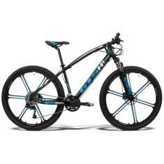 Bicicleta Mountain Bike GTSM1 27 Marchas Aro 29 Suspensão Dianteira Freio a Disco Hidráulico Absolute Magnésio Navigate