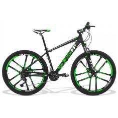 Bicicleta Mountain Bike GTSM1 27 Marchas Aro 29 Suspensão Dianteira Freio a Disco Hidráulico GTS M1 Dynamic Magnésio