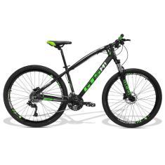 Bicicleta Mountain Bike GTSM1 27 Marchas Aro 29 Suspensão Dianteira Freio a Disco Hidráulico I-Vtec GTS MX9