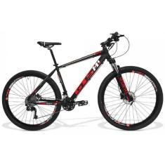 Bicicleta Mountain Bike GTSM1 30 Marchas Aro 29 Suspensão Dianteira Freio a Disco Hidráulico GTS M1 Dynamic RX10