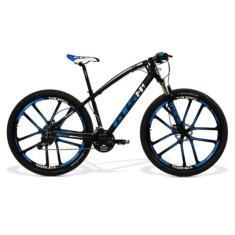 Bicicleta Mountain Bike GTSM1 MTB 27 Marchas Aro 29 Suspensão Dianteira Freio a Disco Hidráulico Absolute Magnésio