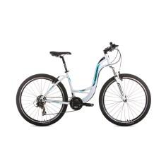 Bicicleta Mountain Bike Houston 21 Marchas Aro 27.5 Suspensão Dianteira Freio V-Brake HT71