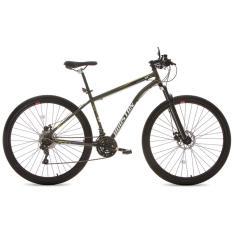 Bicicleta Mountain Bike Houston 21 Marchas Aro 29 Suspensão Dianteira Freio a Disco Mecânico Discovery 29
