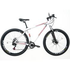 Bicicleta Mountain Bike Houston 21 Marchas Aro 29 Suspensão Dianteira Freio a Disco Mercury HT29
