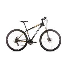 Bicicleta Mountain Bike Houston 24 Marchas Aro 29 Suspensão Dianteira Freio Disco Mecânico Ht90 Feminina