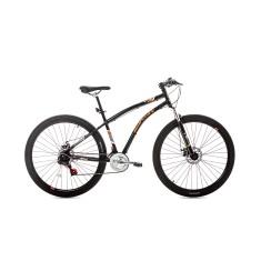 Bicicleta Mountain Bike Houston Mountain 21 Marchas Aro 27.5 Suspensão Dianteira Freio a Disco Mecânico Discovery