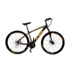 Bicicleta Mountain Bike KLS 21 Marchas Aro 29 Suspensão Dianteira Freio a Disco Mecânico KSW