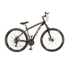 Bicicleta Mountain Bike KLS 21 Marchas Aro 29 Suspensão Dianteira