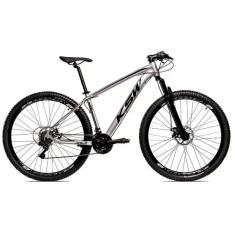 Bicicleta Mountain Bike KSW 24 Marchas Aro 29 Suspensão Dianteira Freio a Disco Mecânico Alum