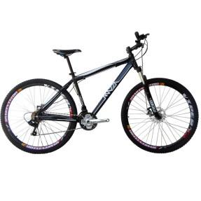 Bicicleta Mountain Bike Mazza Bikes 21 Marchas Aro 29 Suspensão Dianteira Freio a Disco Mecânico Fire MZZ-200
