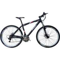 Bicicleta Mountain Bike Mazza Bikes 21 Marchas Aro 29 Suspensão Dianteira Freio a Disco Mecânico New Times
