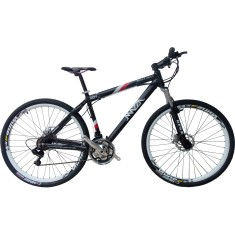 400ec0033a42a Bicicleta Mountain Bike Mazza Bikes 27 Marchas Aro 29 Suspensão Dianteira  Freio a Disco New Times