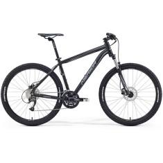 Bicicleta Mountain Bike Merida 27 Marchas Aro 27.5 Suspensão Dianteira Freio a Disco Mecânico Big Seven 40