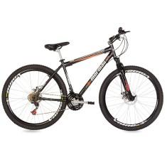 Bicicleta Mountain Bike Mormaii 21 Marchas Aro 29 Suspensão Dianteira Freio  a Disco Jaws c258744dae