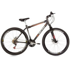 Bicicleta Mountain Bike Mormaii 21 Marchas Aro 29 Suspensão Dianteira Freio a Disco Mecânico Jaws