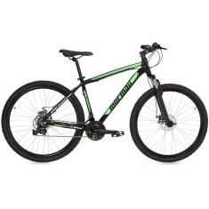 Bicicleta Mountain Bike Mormaii 21 Marchas Aro 29 Suspensão Dianteira Freio a Disco Mecânico Venice Pró
