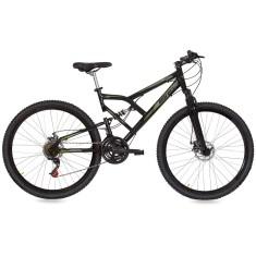 Bicicleta Mountain Bike Mormaii 21 Marchas Aro 29 Suspensão Full Suspension Freio Disco Mecânico Big Rider