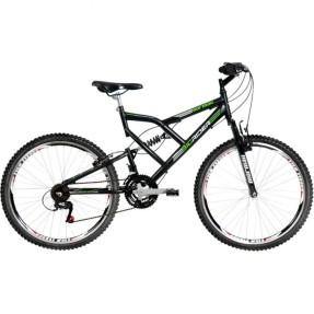 Bicicleta Mountain Bike Mormaii 24 Marchas Aro 26 Suspensão Full Suspension Freio V-Brake Big Rider