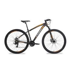 Bicicleta Mountain Bike Oggi 21 Marchas Aro 29 Suspensão Dianteira Freio a Disco Mecânico Hacker Sport 2018