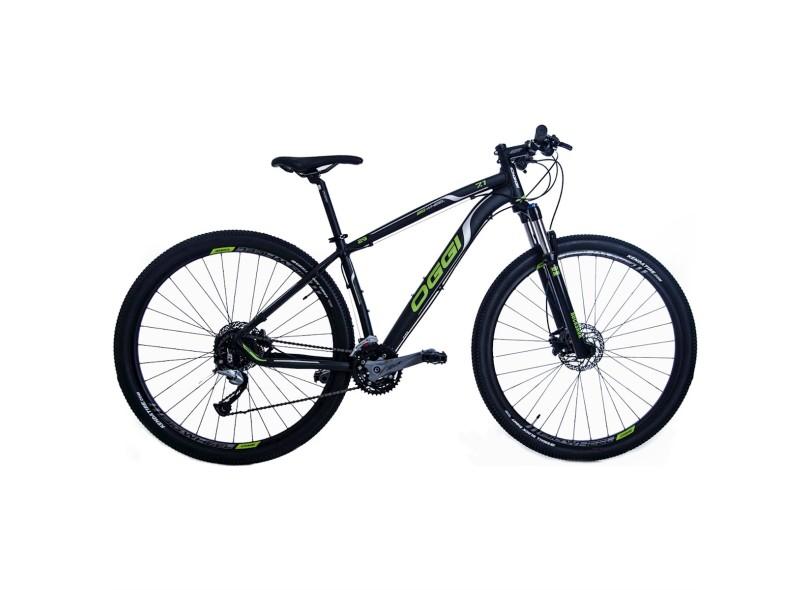 Bicicleta Mountain Bike Oggi Aro 29 27 Marchas Suspensão Dianteira Big Wheel 7 1 2017