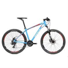Bicicleta Mountain Bike Soul Cruiser 21 Marchas Aro 27.5 Suspensão Dianteira Freio a Disco Mecânico Ace Disc