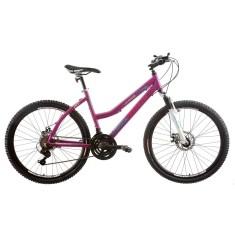 Bicicleta Mountain Bike Track & Bikes 21 Marchas Aro 26 Suspensão Dianteira Freio a Disco Mecânico TK 450