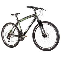 Bicicleta Mountain Bike Track & Bikes 21 Marchas Aro 26 Suspensão Dianteira Freio a Disco Mecânico TK 480